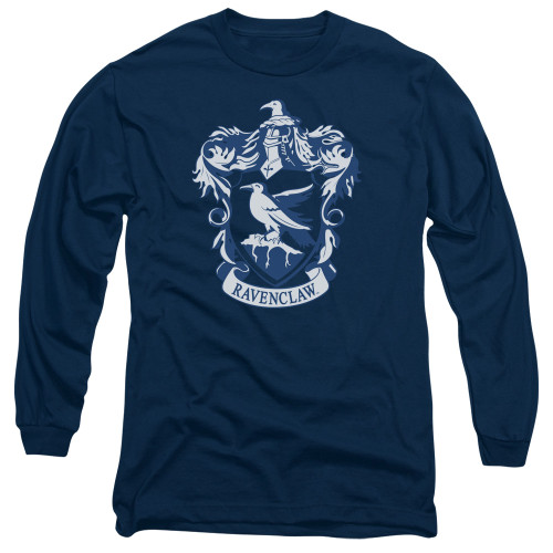 Image for Harry Potter Long Sleeve Shirt - Classic Ravenclaw Crest