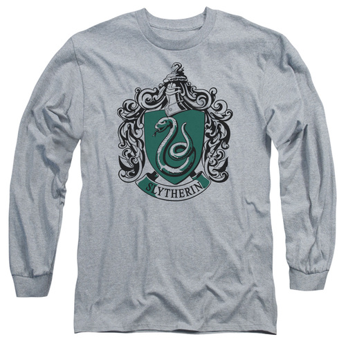Image for Harry Potter Long Sleeve Shirt - Classic Slytherin Crest
