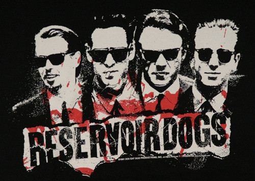 Image for Reservoir Dogs 4 Faces T-Shirt