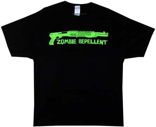 Image Closeup for Resident Evil T-Shirt - Zombie Repellent