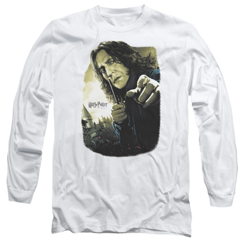 Image for Harry Potter Long Sleeve Shirt - Snape Poster