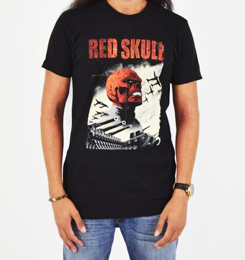 Image for The Red Skull T-Shirt - Classic Infantry