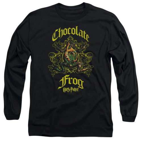Image for Harry Potter Long Sleeve Shirt - Chocolate Frog