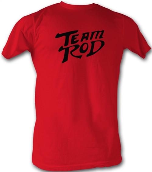 Image Closeup for Hot Rod Red Logo T-Shirt