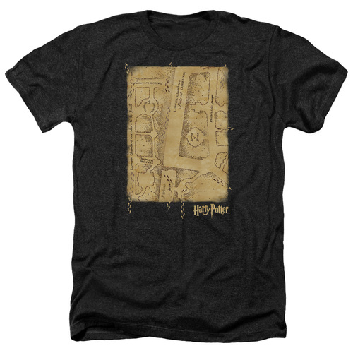 Image for Harry Potter Heather T-Shirt - Marauder's Map Interior