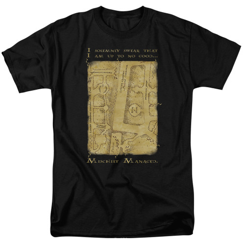 Image for Harry Potter T-Shirt - Map Interior