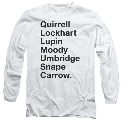 Image for Harry Potter Long Sleeve Shirt - Professors