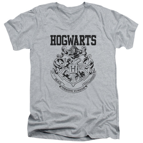 Image for Harry Potter V Neck T-Shirt - Hogwarts