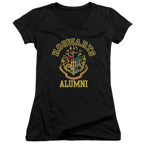 Image for Harry Potter Girls V Neck - Hogwarts Alumni