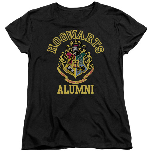 Image for Harry Potter Womans T-Shirt - Hogwarts Alumni