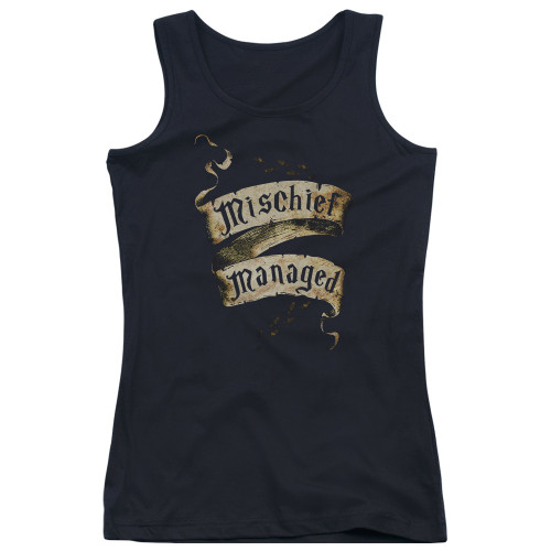 Image for Harry Potter Girls Tank Top - Michief Managed Ribbon