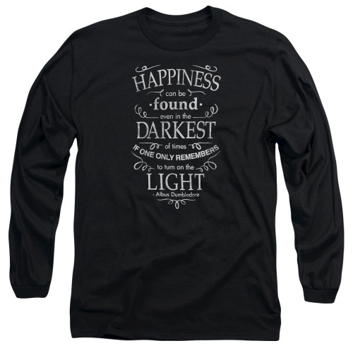 Image for Harry Potter Long Sleeve Shirt - Happiness Can Be Found