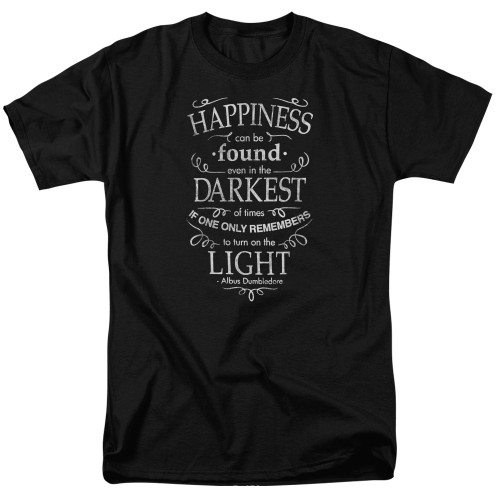 Image for Harry Potter T-Shirt - Happiness Can Be Found