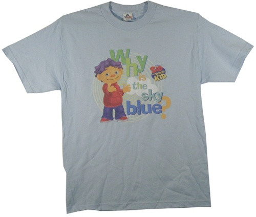 Image Closeup for Sid the Science Kid Why is the Sky Blue T-Shirt