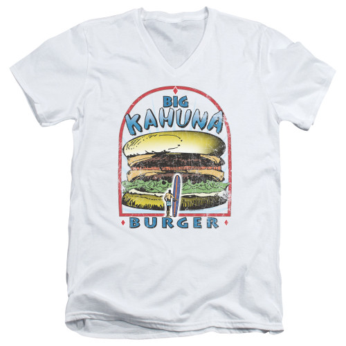 Image for Pulp Fiction V Neck T-Shirt - Big Kahuna Burger