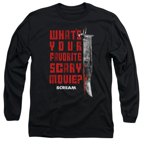 Image for Scream Long Sleeve Shirt - Favorite