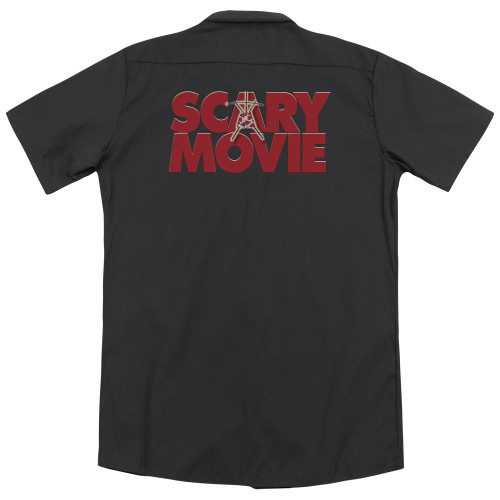 Image for Scary Movie Dickies Work Shirt - Logo
