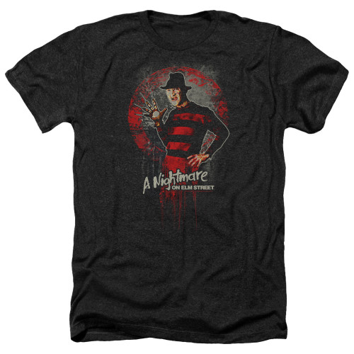 Image for A Nightmare on Elm Street Heather T-Shirt - Hello