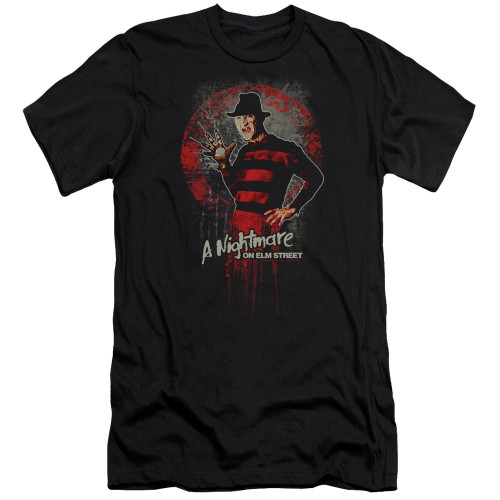 image for  A Nightmare on Elm Street Premium Canvas Premium Shirt - Hello