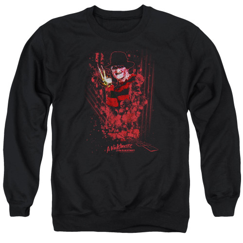 Image for A Nightmare on Elm Street Crewneck - One Two Freddy's Coming For You