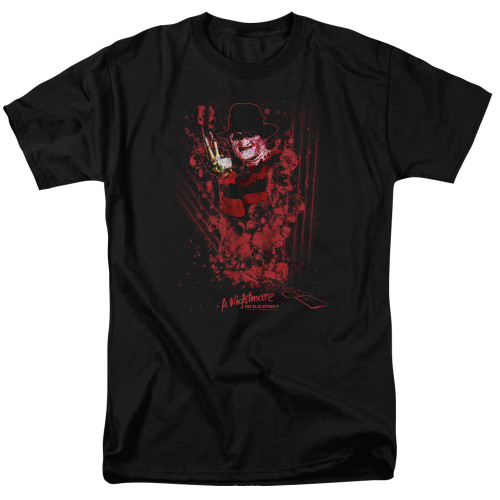 Image for A Nightmare on Elm Street T-Shirt - One Two Freddy's Coming For You