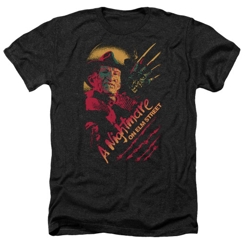 Image for A Nightmare on Elm Street Heather T-Shirt - Freddy Claws