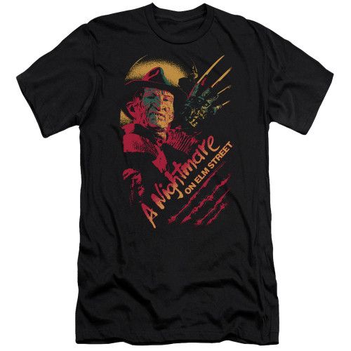 Image for A Nightmare on Elm Street Premium Canvas Premium Shirt - Freddy Claws