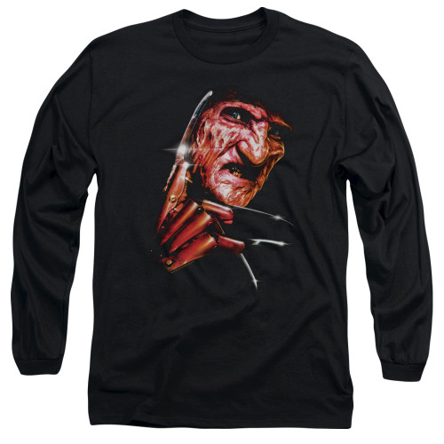 Image for A Nightmare on Elm Street Long Sleeve Shirt - Freddy's Face
