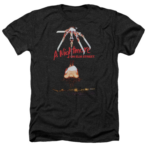 Image for A Nightmare on Elm Street Heather T-Shirt - Alternate Poster