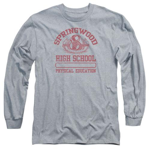 Image for A Nightmare on Elm Street Long Sleeve Shirt - Springwood High Phys Ed
