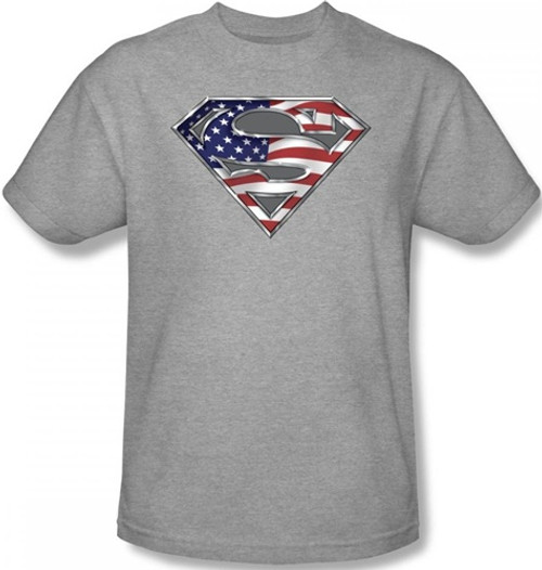 Image for Superman T-Shirt - All American Shield Logo