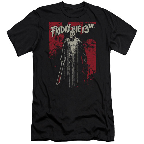 Image for Friday the 13th Premium Canvas Premium Shirt - Dripping