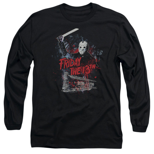 Image for Friday the 13th Long Sleeve Shirt - Cabin