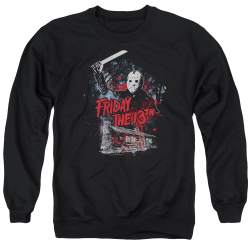 Image for Friday the 13th Crewneck - Cabin