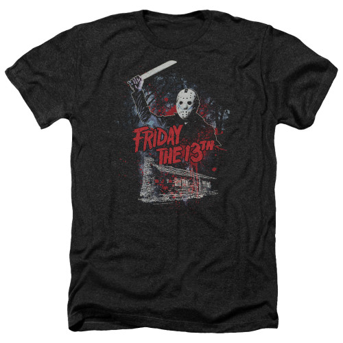 Image for Friday the 13th Heather T-Shirt - Cabin
