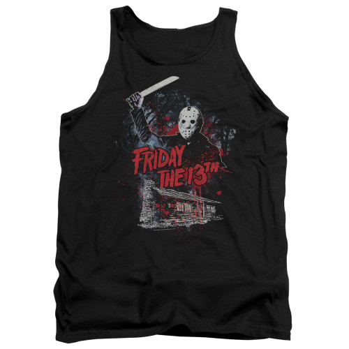 Image for Friday the 13th Tank Top - Cabin