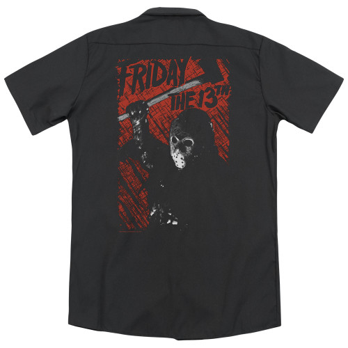 Image for Friday the 13th Dickies Work Shirt - Jason Lives