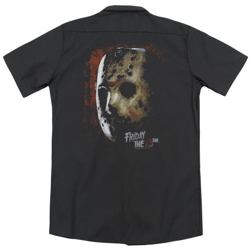 Image for Friday the 13th Dickies Work Shirt - Mask of Death