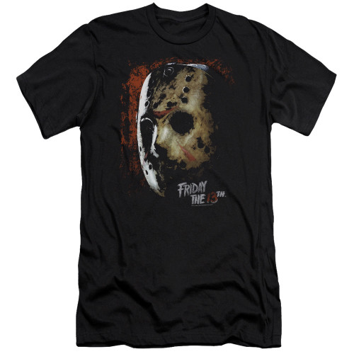 Image for Friday the 13th Premium Canvas Premium Shirt - Mask of Death