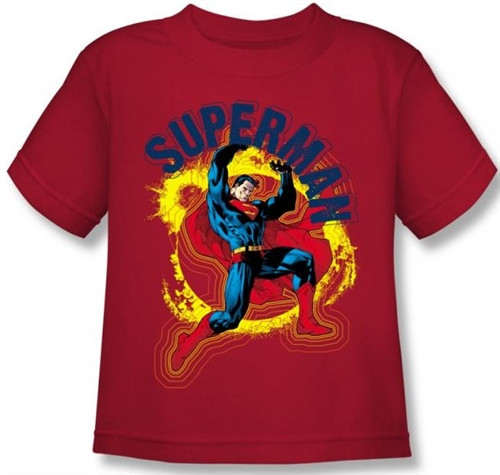 Image for Superman Kids T-Shirt - A Name to Uphold Logo