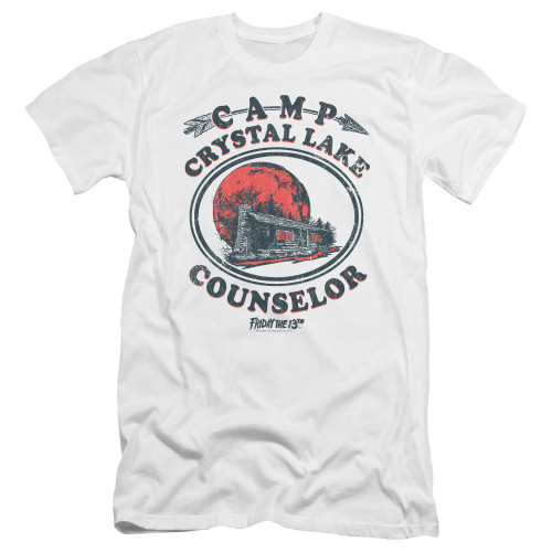 Image for Friday the 13th Premium Canvas Premium Shirt - Camp Crystal Lake Counselor