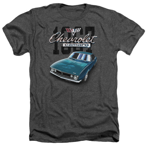 Image for Chevrolet Heather T-Shirt - Classic Blue Camero