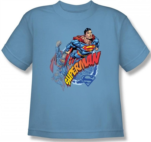 Image for Superman Kids T-Shirt - Up Up and Away