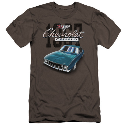 Image for Chevrolet Canvas Premium Shirt - Classic Blue Camero