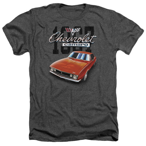Image for Chevrolet Heather T-Shirt - Classic Red Camero