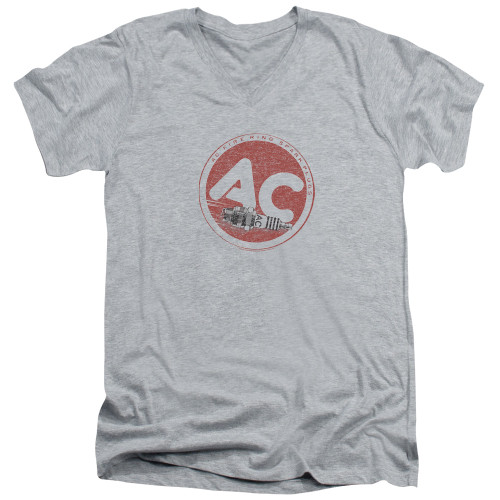 Image for AC Delco V Neck T-Shirt - AC Circle