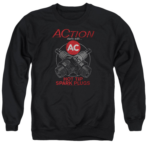 Image for AC Delco Crewneck - Cross Plugs