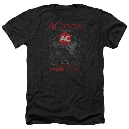 Image for AC Delco Heather T-Shirt - Cross Plugs