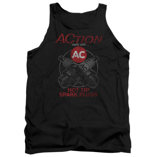 Image for AC Delco Tank Top - Cross Plugs