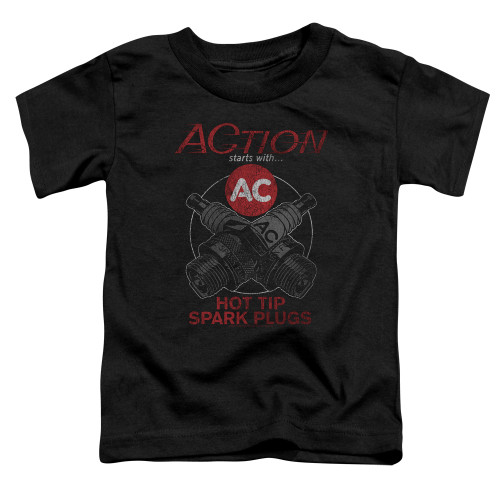 Image for AC Delco Toddler T-Shirt - Cross Plugs